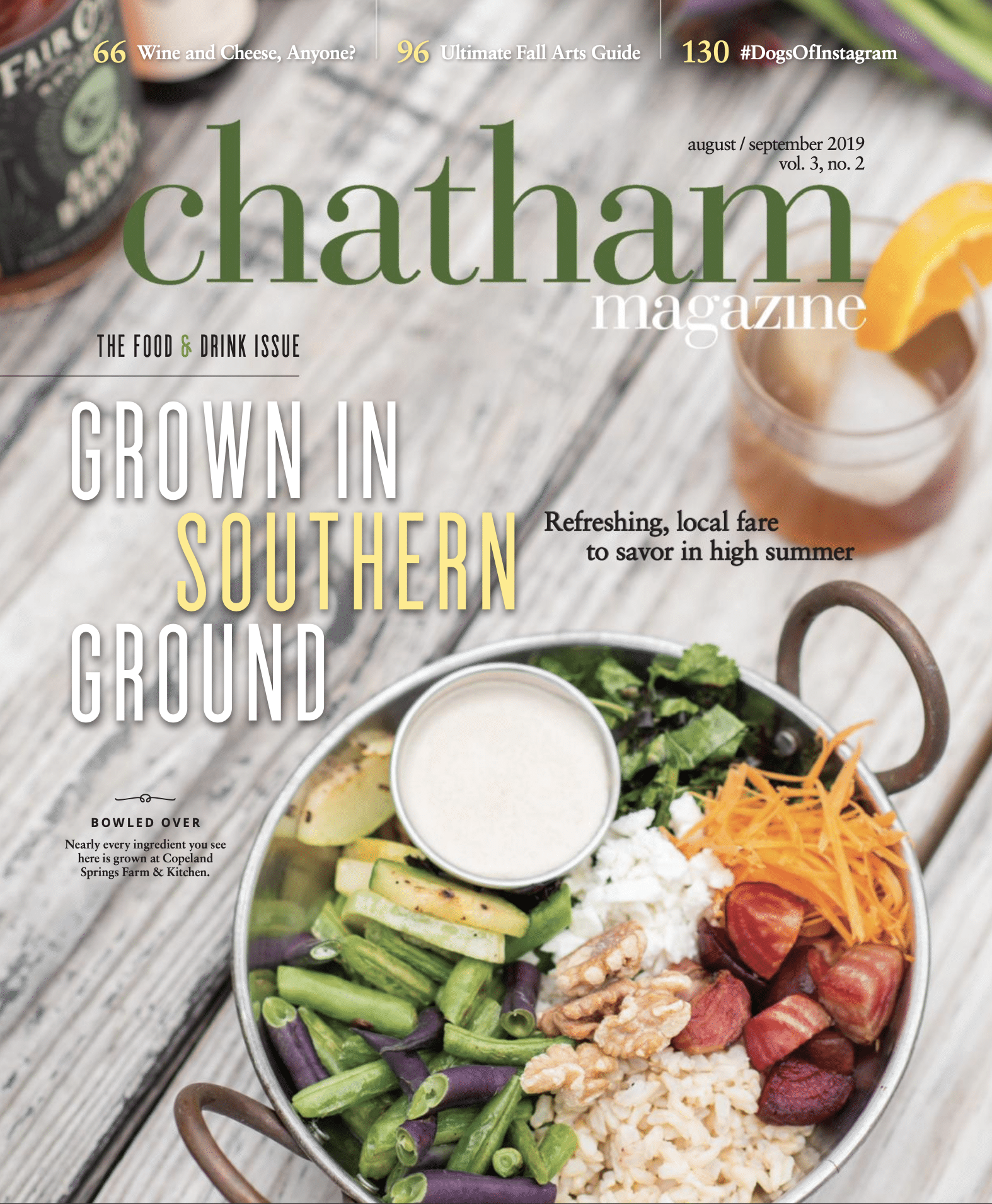 Chatham Magazine Cover August September 2019