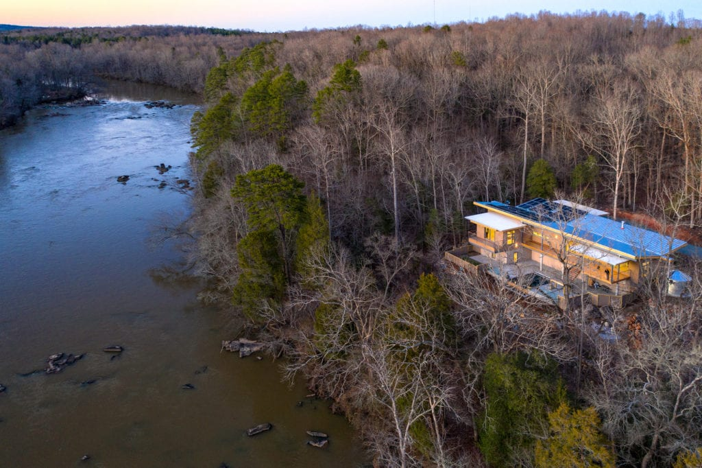 Beautiful home on the Haw River