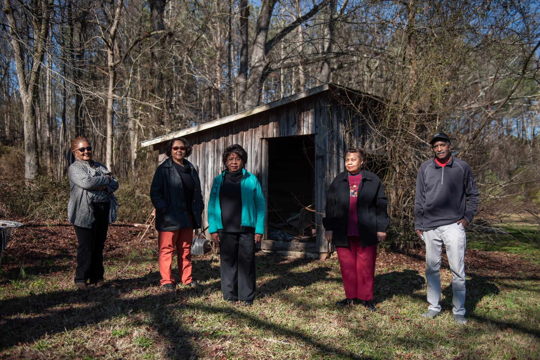 Williams family members with roots in Chatham County